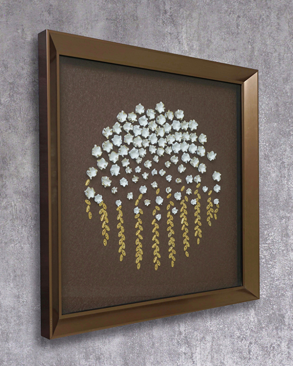 The Mystic Flowers Wallpiece Wall Hangings
