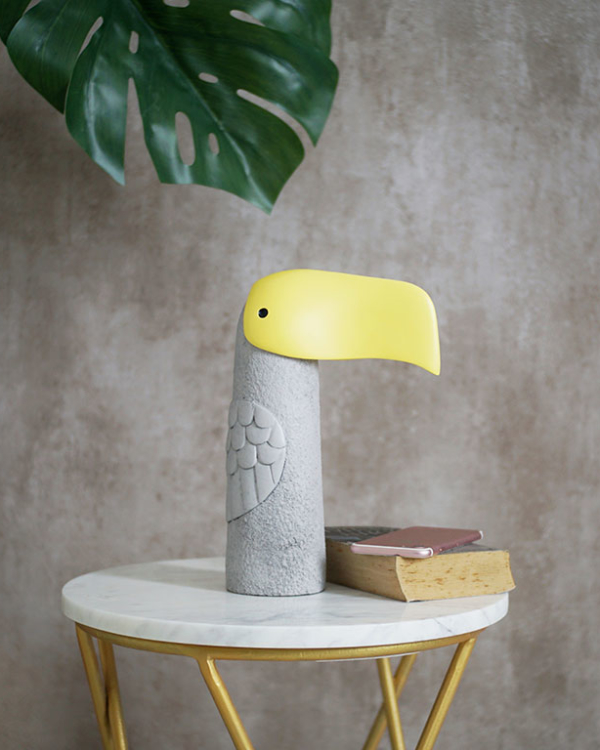 Toco Tucan Bird Figurine Sculptures & Figurines