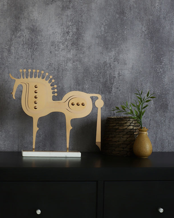 Trojan Horse Figurine Sculptures & Figurines