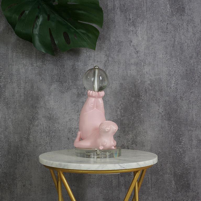 Circus Hippo Figurine Sculptures & Figurines
