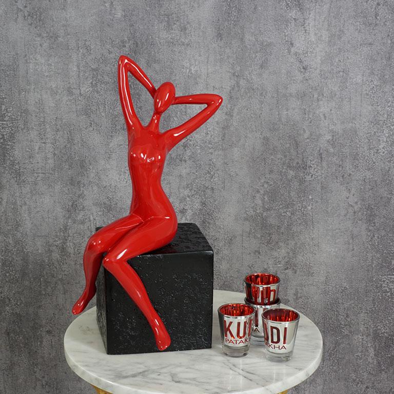Cover Girl Figurine Sculptures & Figurines