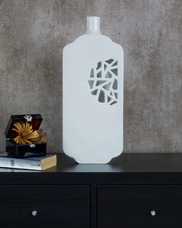 Cut & Curve Vase Vases