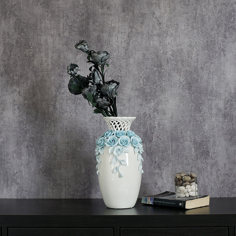 Flower Drape Vase Vases