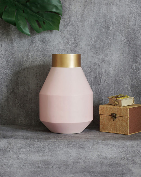 Geometric Glam Vase M Vases
