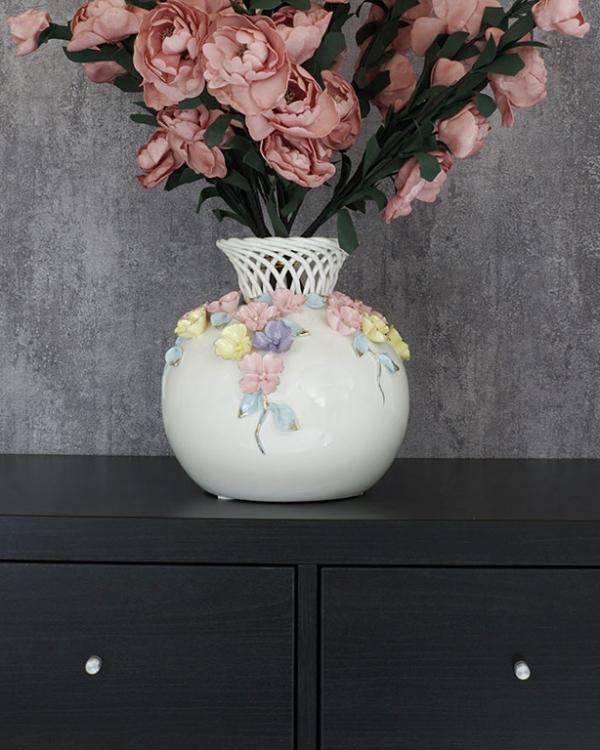 Pastle Blooms Vase Vases