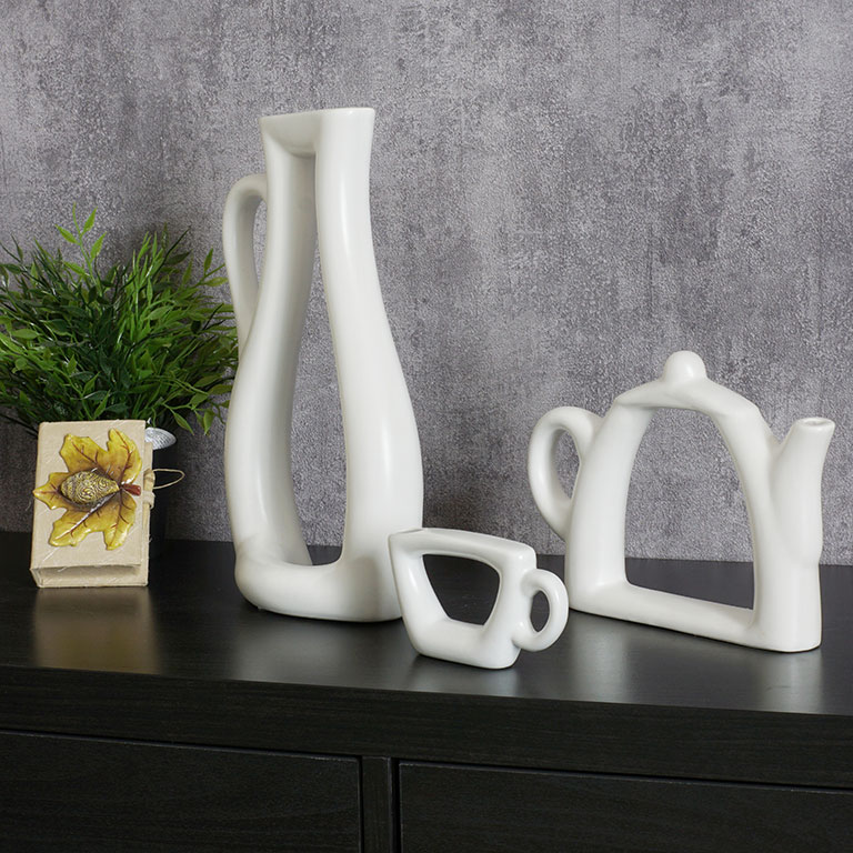 The Tea Set Vase Vases