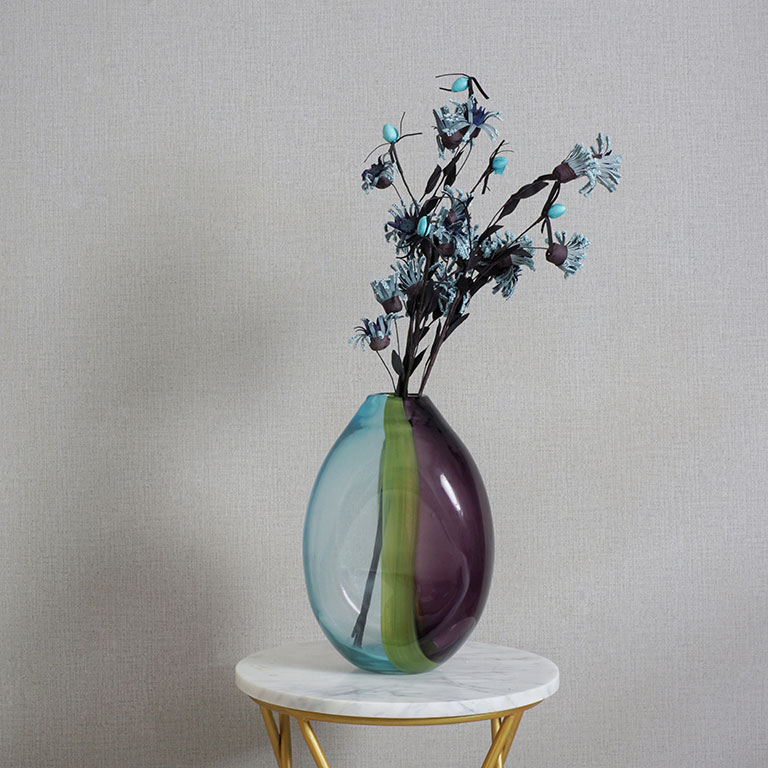 Dual Shade Fluid Vase Vases