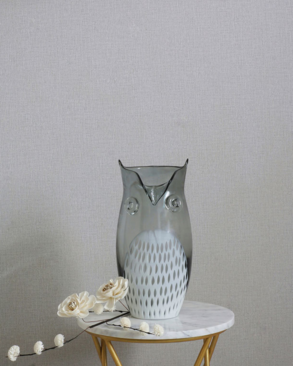 Great Horned Owl Vase Vases