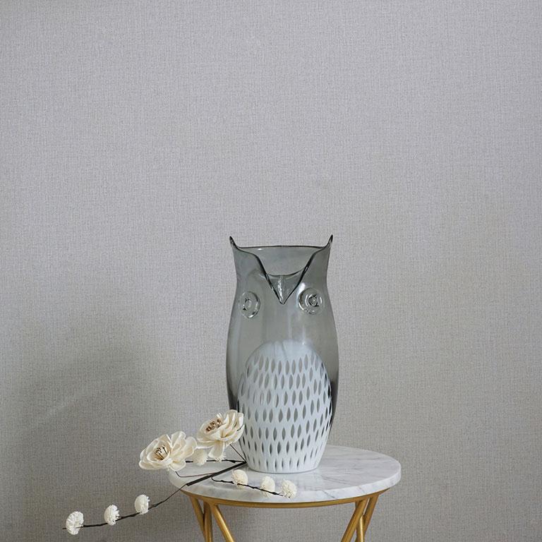 Great Horned Owl Vase Vases