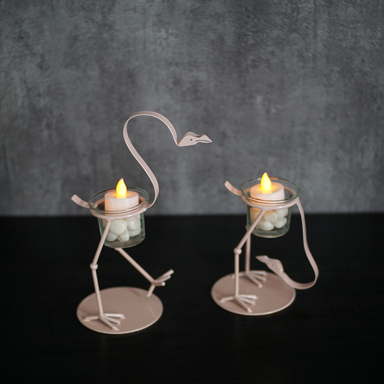 Flamingo Candle Holder (L) Candle Holders