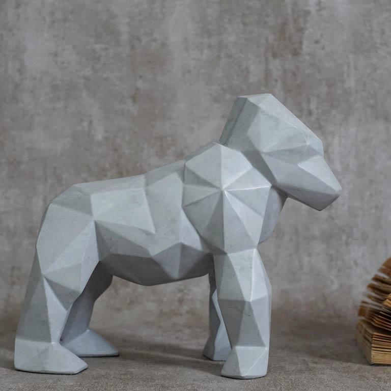 Origami Chimp Figurine Sculptures & Figurines