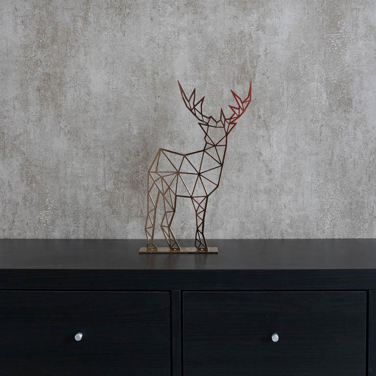 Caribou Deer Figurine Sculptures & Figurines