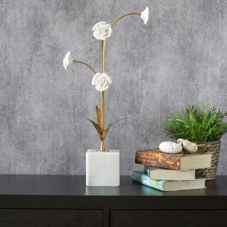 Ornate Blooms Artifact Showpieces