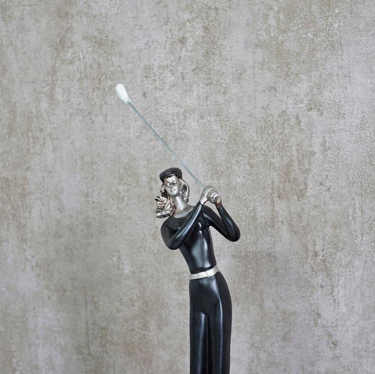 Club-And-Ball GolfMan Figurine Sculptures & Figurines