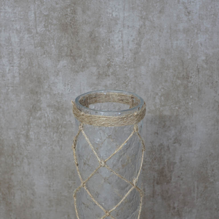 Jute Lattice Vase Vases