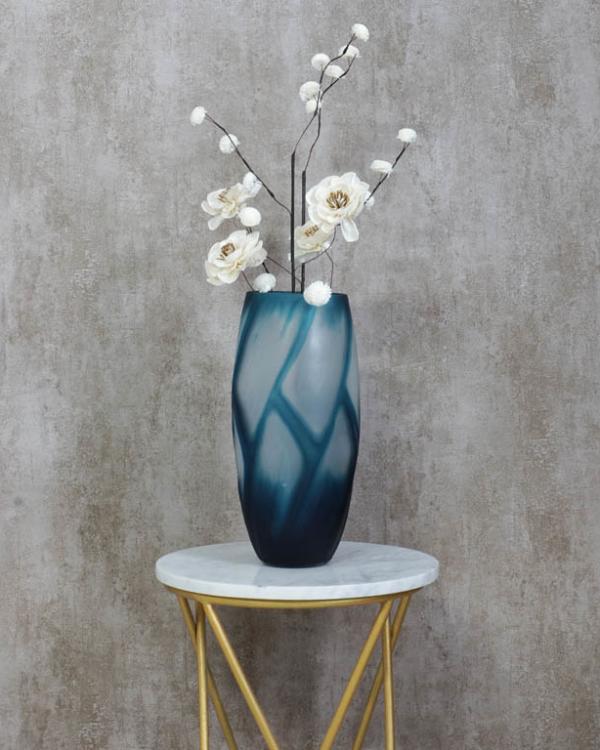 Bondi Blue Vase Vases