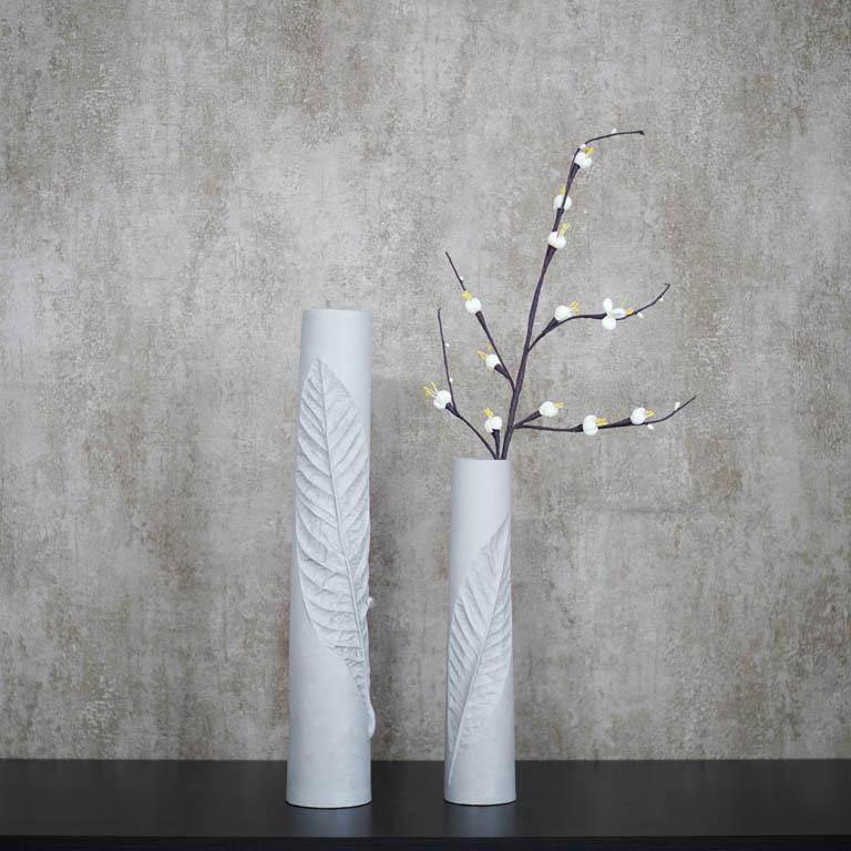 Leaf Imprint Vase (L) Vases