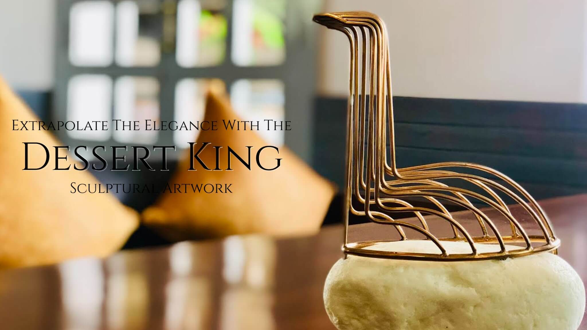 Desert King Figurine - Luxury Decor Online